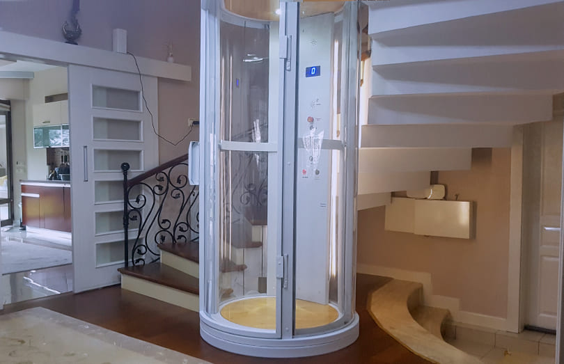 oval asansör